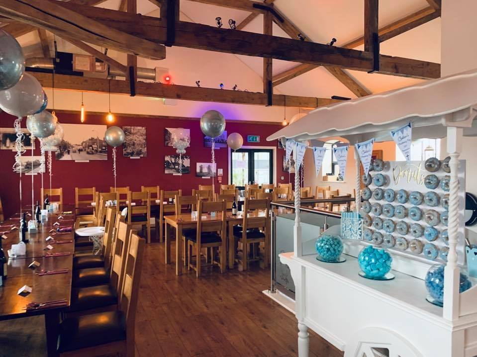 The Blue Mallard wedding ,christening and events venue in Burscough near Ormskirk